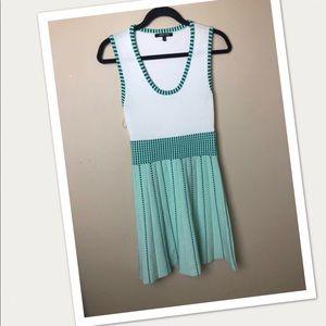 WOW Couture Tennis Knit Strip Dress